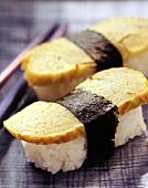 Two Nori Maki Sushi