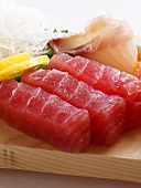 Sliced Tuna for Sushi