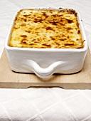 A Pan of Lasagna