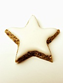 One Frosted Star Cookie