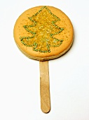 Lollipop Christmas Cookie
