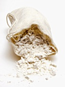 Flour Coming out of a Sack