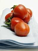 Tomatoes Resting on a Cloth