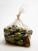 Bag of Green Olives