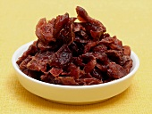 Dried Cranberries in a Dish