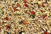 Barley and Rice Salad; From Above