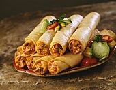 Plate of Taquitos