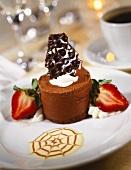 Elegant Chocolate Mousse Dessert