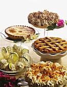 Five Assorted Desserts