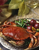 Crab Dinner with White Wine