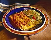 Cheese Enchiladas with Avocado