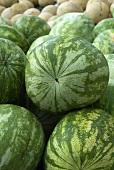 Many Whole Watermelon