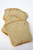 Slices of gluten-free Kamut bread