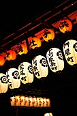 Various Japanese lanterns