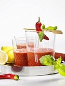 Tomato chilli drink