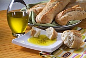 Italian Herb Dipping Oil with Crusty Bread