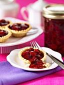 Small cherry pies