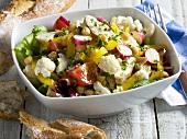 Cauliflower salad with chicken