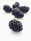 Several blackberries