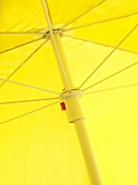 Yellow sun umbrella
