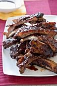 Glazed spare ribs