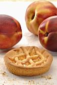 Small peach tart
