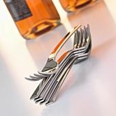 Stacked forks