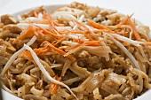 Bowl of Chicken Pad Thai