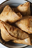 Vegetable Samosas; Stuffed Indian Snack