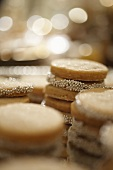 Sugar Cookies with Silver Sugar Balls