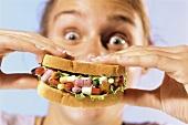 A pill sandwich