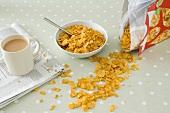 Spilt cornflakes