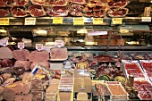 A delicatessen market in Barcelona