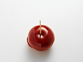 A toffee apple