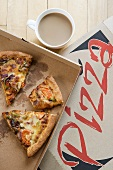 Coffee and pizza