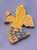 Decorated sweet pastry biscuit (angel)
