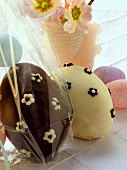 Chocolate eggs and Easter eggs for giving