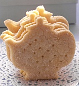 Biscuit in shape of teapot
