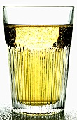 Apple schorle (apple juice & mineral water) in glass