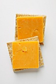 Cracker with Extra Sharp Cheddar