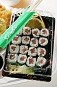Maki sushi to go