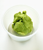 Sushi accompaniments: wasabi