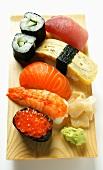 Mixed sushi platter