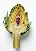 Half an artichoke