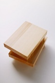 Japanese wooden boards for sushi, sashimi etc.