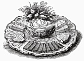 Cheese platter (Illustration)