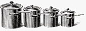 Various pots and pans (Illustration)