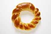 Mediterranean white bread ring