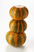 Mini-pumpkins, in a pile