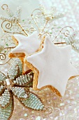 Christmas tree ornament and cinnamon stars